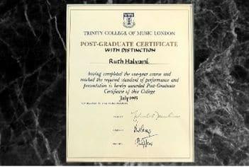 תעודת הצטיינות בלימודי האקדמים בלונדון