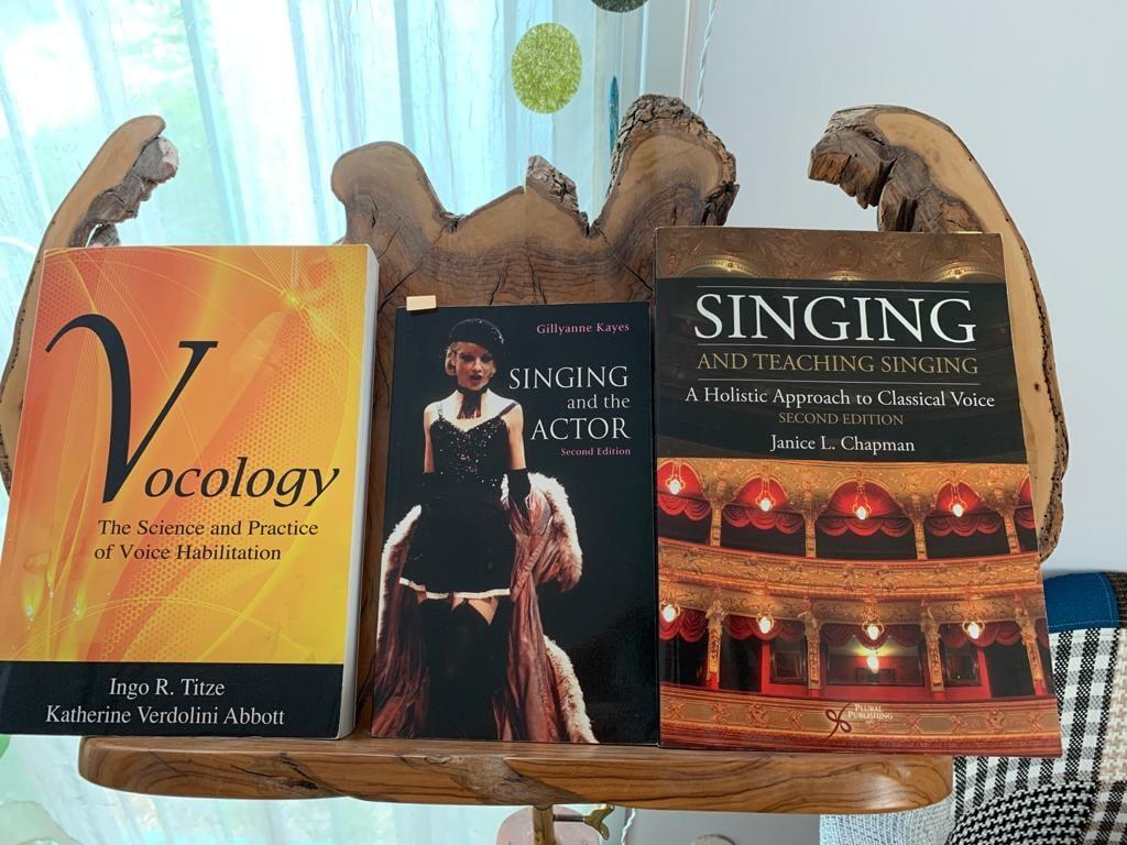 books that inspire my singing teaching