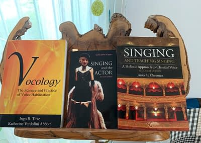 books that inspire my singing teaching