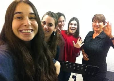 Ruti Halvani's youth ensemble